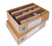 caja de 12 culán de chocolate negro