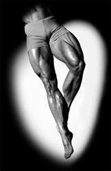 unas piernas bien musculadas