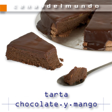ficha tarta chocolate y mango anverso