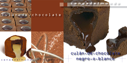 ficha culán de chocolate