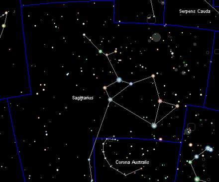Gráfico de la constelación tomado de Cartes du Ciel de Patrick Chevalley
