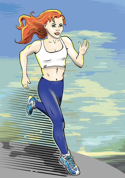 runner zoom