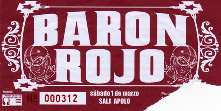 entrada baron en la sala apolo, barcelona (01-03-08)