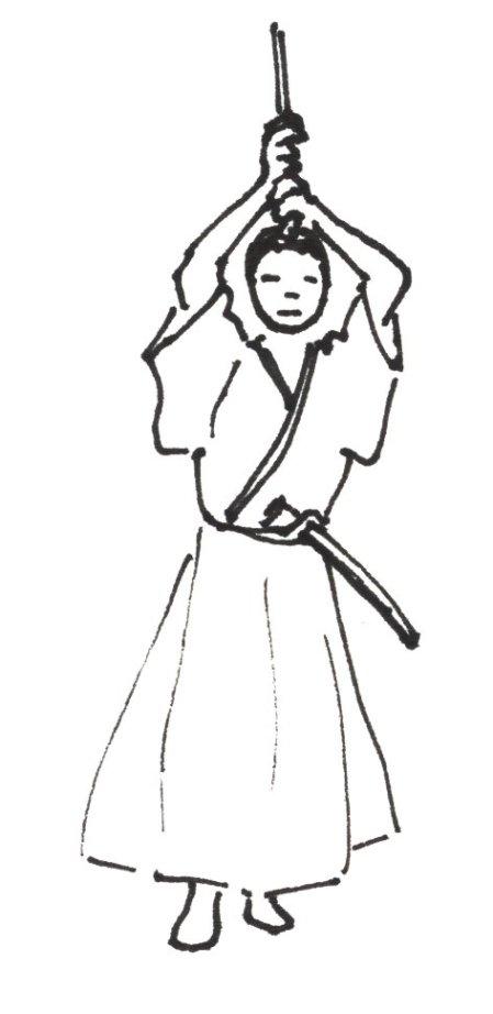 iaido-jodan-no-kamae