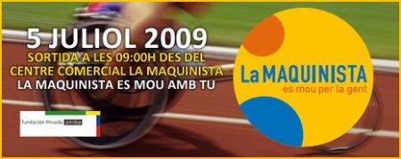 II cursa la maquinista 2009