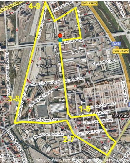 Iv cursa per la integraci la maquinista barcelona 03 - Maquinista centro comercial ...